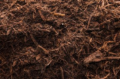 1 Cubic Yard Hardwood Shredded Mulch